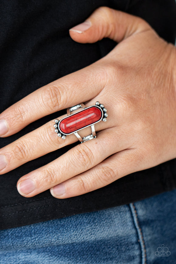 Paparazzi Accessories Artsy Artisan - Silver Ring - Mel's Pretty It Up Boutique