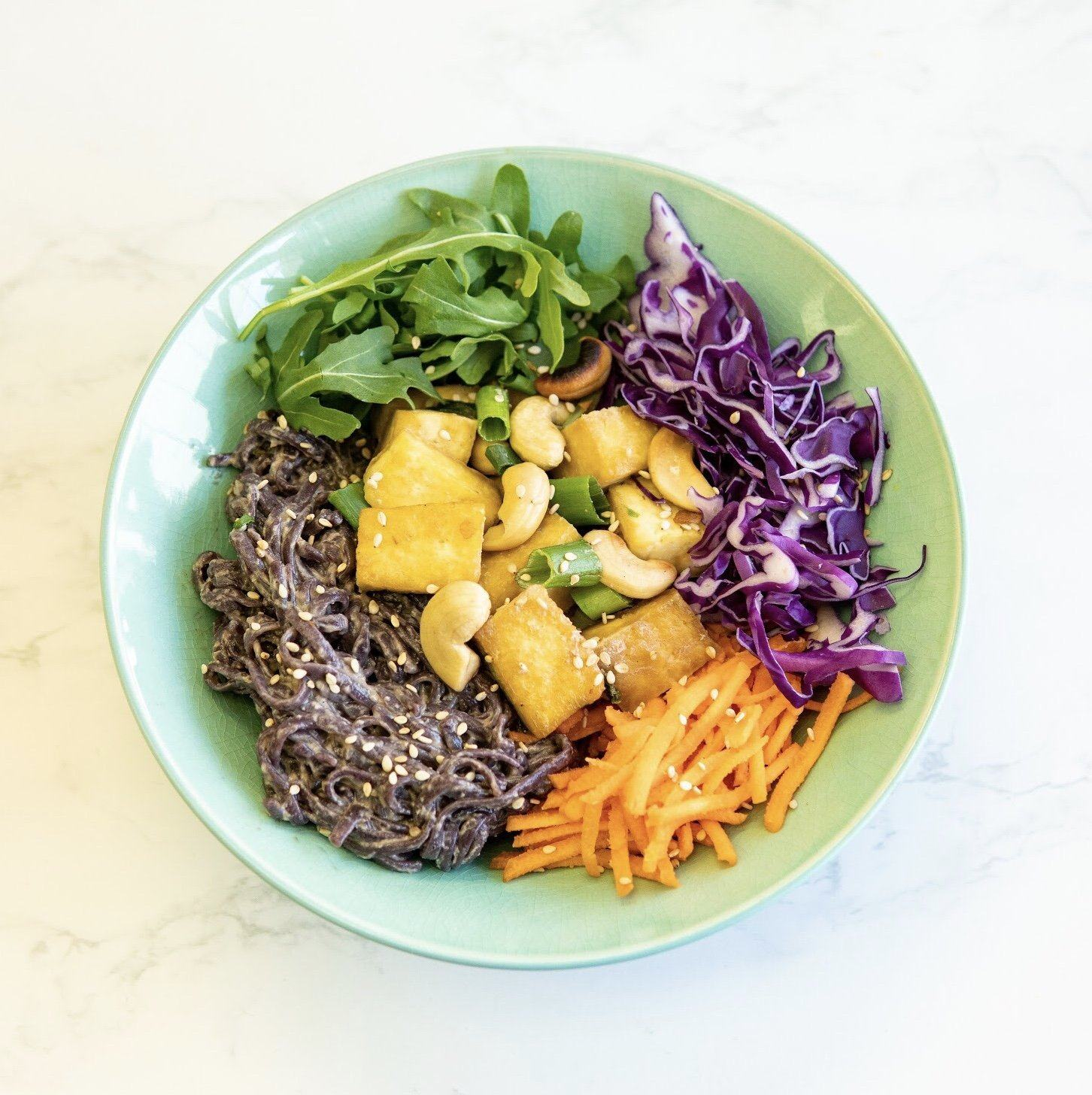 Vegan Bu Thai Black Noodles