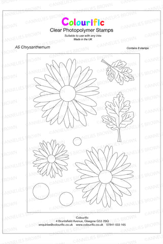 A5 Chrysanthemum Stamp Set