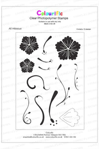 A5 Hibiscus Stamp Set
