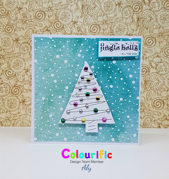 A6 Holly Jolly Christmas Stamp Set