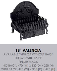 "18"" Valencia (no back)"
