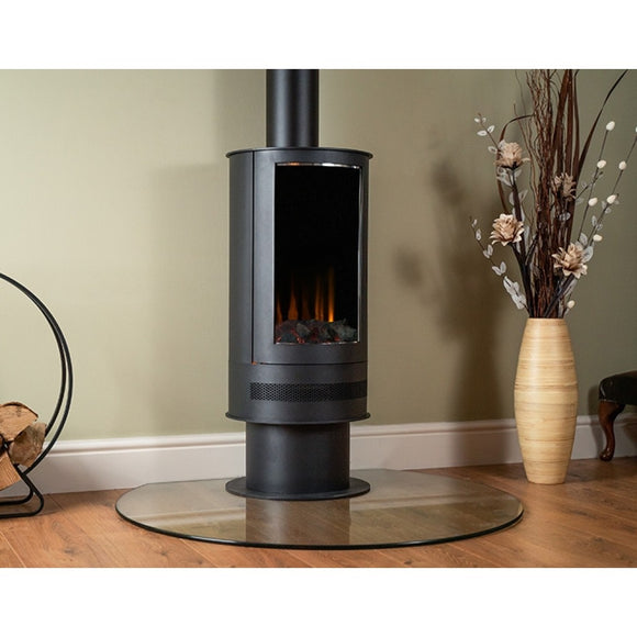 Ashurst Barrel electric stove