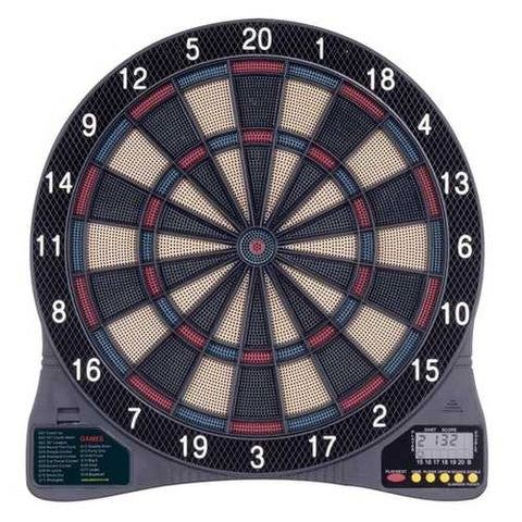Electronic Dartboard Dart Game with 6 Soft-Tip Darts