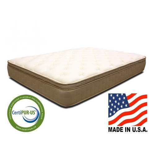King size 11-inch Thick Quilted EuroTop Innerspring Mattress