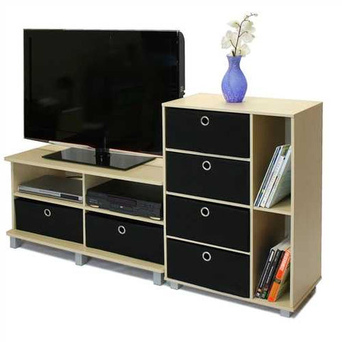 Image of Steam Beech Entertainment Center - Holds Flat Screen TV's up to 42""