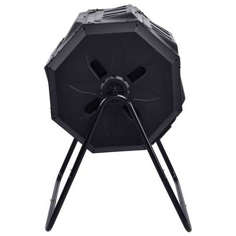 Image of Outdoor 43-Gallon Compost Bin Tumbler Home Garden Composter
