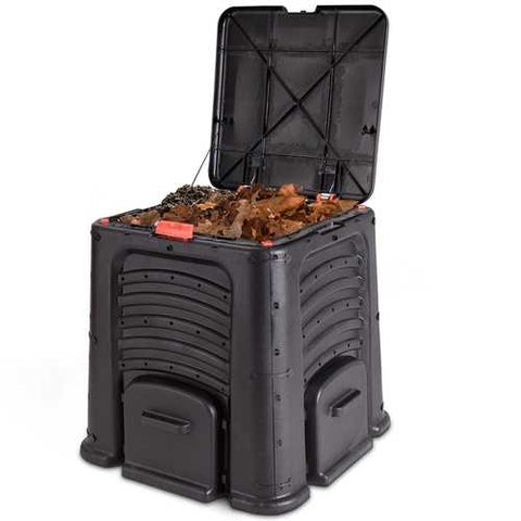 Image of Outdoor 105 Gallon Compost Bin for Home Garden Composting