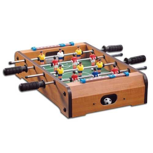 Wooden 27-inch Foosball Table with Legs