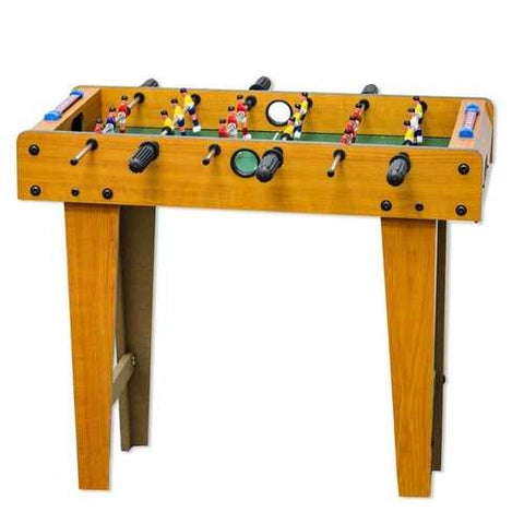 Image of Wooden 27-inch Foosball Table with Legs