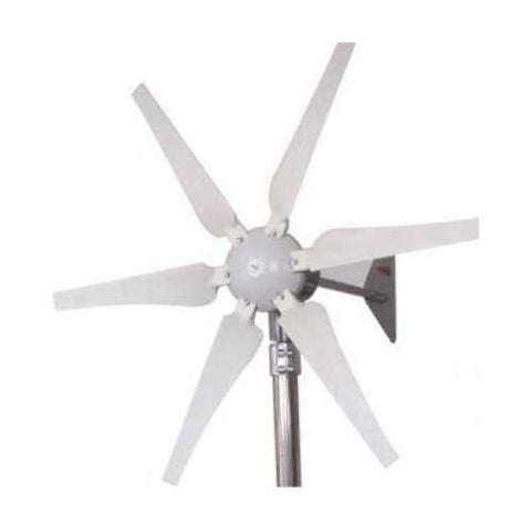 400 Watt 12-Volt 6-Blade Wind Generator with Charge Controller