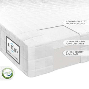 Full size 8-inch Thick Memory Foam Mattress - Firm