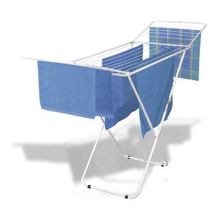 Durable Welded Steel Laundry Air-Drying Rack - Won't Chip or Rust