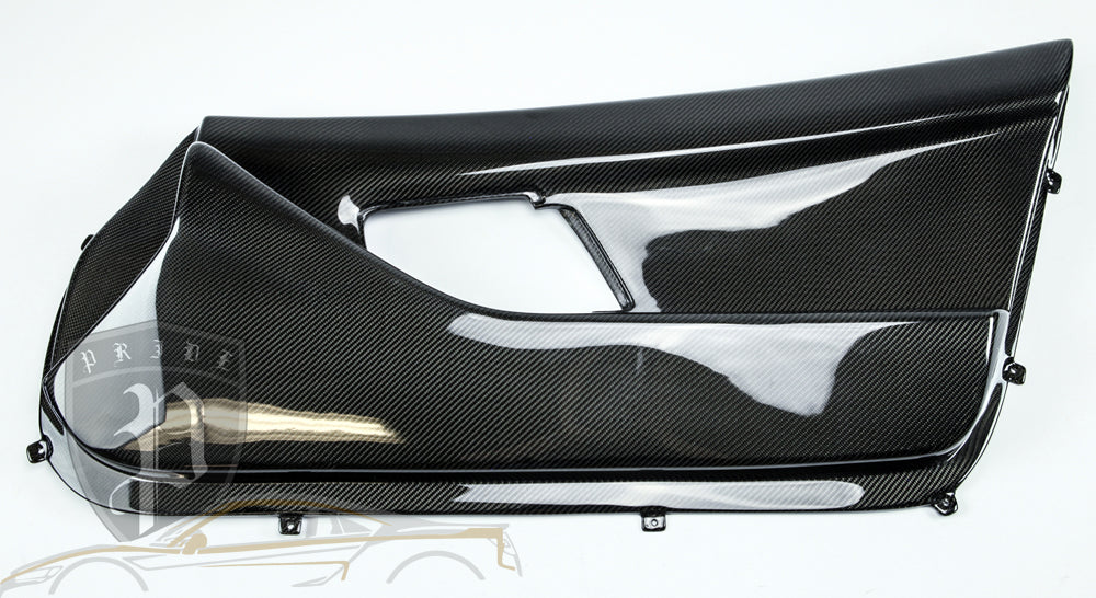 PRIDE CARBON INTERIOR DOOR PANELS