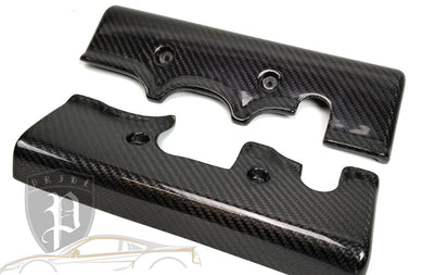 PRIDE CARBON ENGINE INJECTOR WIRE COVERS