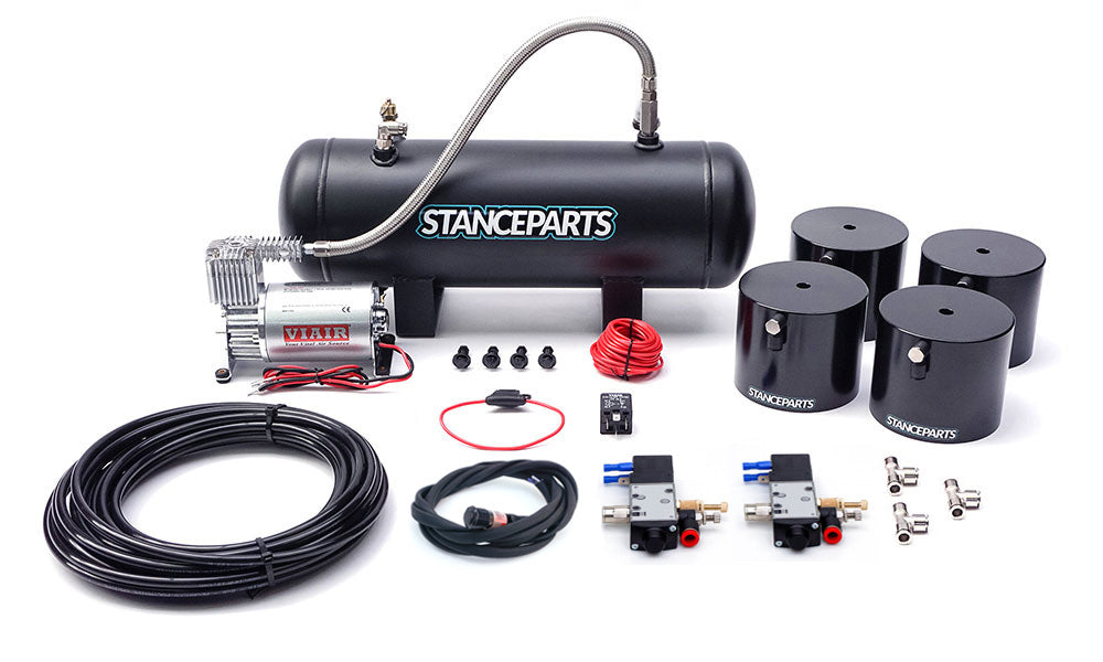 Stanceparts - Air Cup Kit - Complete Front + Rear Kit