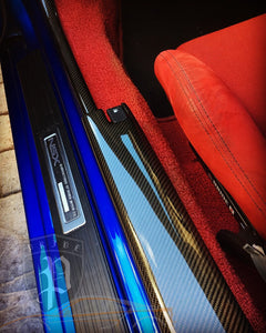 PRIDE CARBON INTERIOR DOOR PAD GARNISH