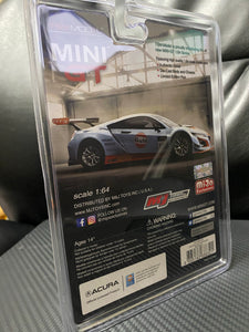 INNO64 - Acura NSX GT3 Gulf Racing 1:64 Scale