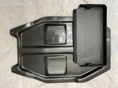 ATR OEM Style Battery Tray - Dry Carbon