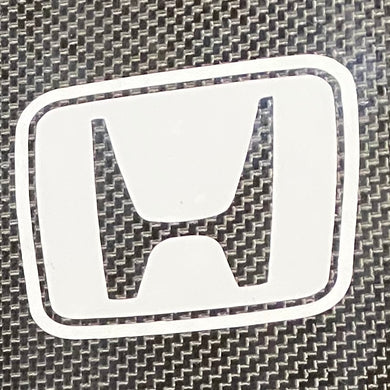 Die Cut Sticker - Badge - Honda Solid Background