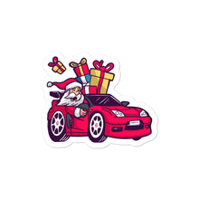Load image into Gallery viewer, Santa Driving NSX - Bubble-free stickers