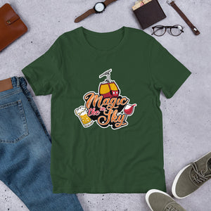 Magic In The Sky - Short-Sleeve Unisex T-Shirt (Black)