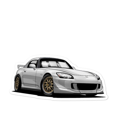 Marc's Limited s2000 CR - Bubble-free stickers