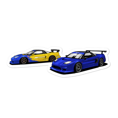 Spoon NSX Vinyl Sticker