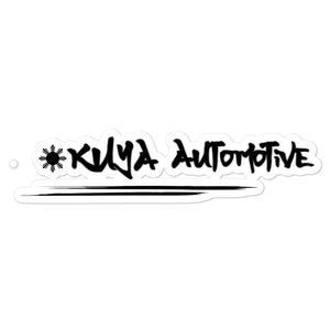 Kuya Automotive Black - Bubble-free stickers
