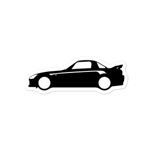 s2000 Side Silhouette - Bubble-free stickers