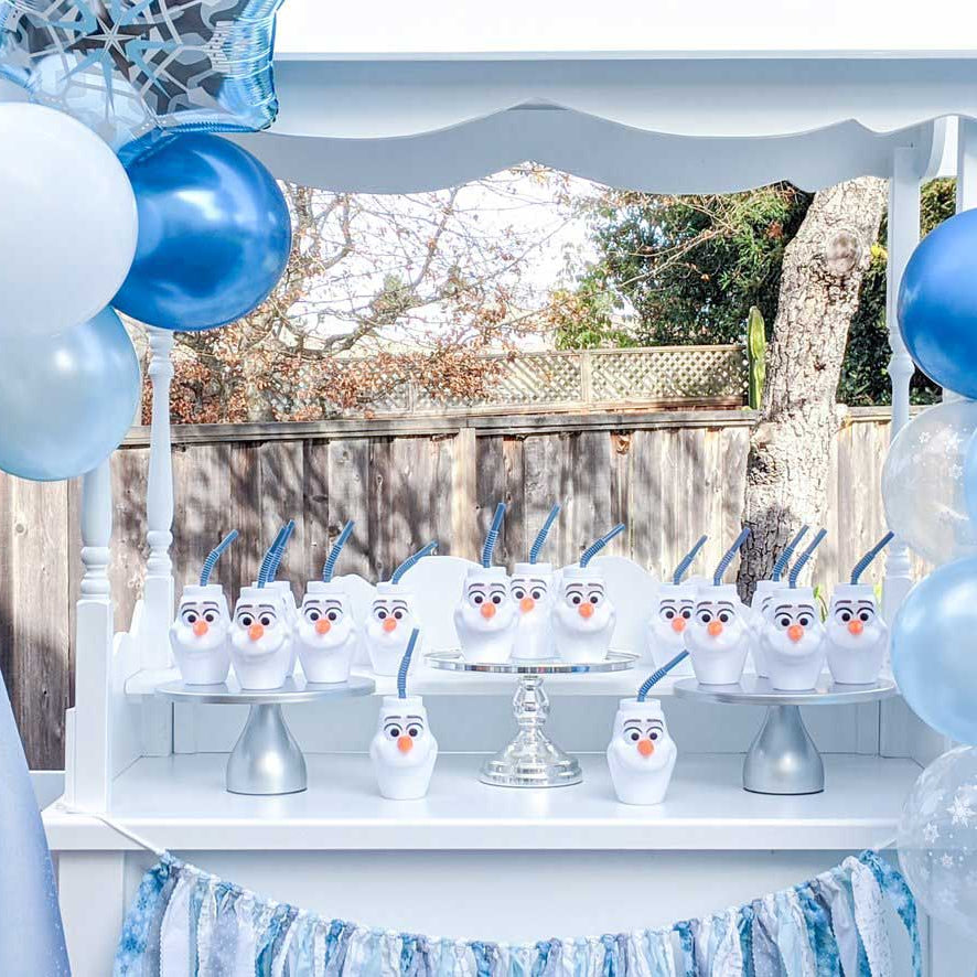 frozen balloon garland and arch kit
