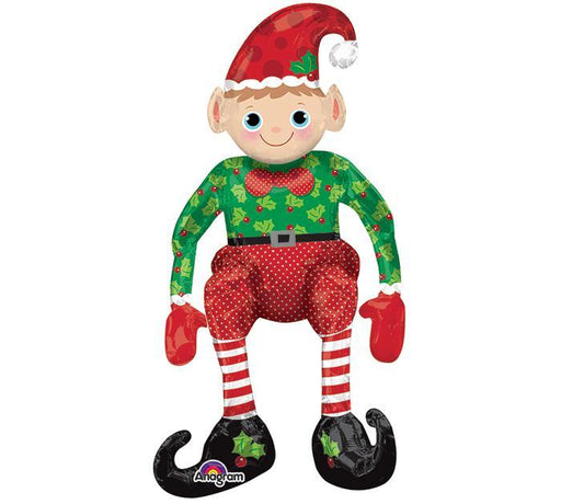 "29"" Sitting Elf Balloon (Air-fill Balloon)"