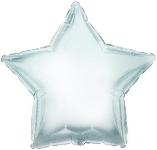 Balloons - 18-inch Silver Star-Shaped Foil Balloon