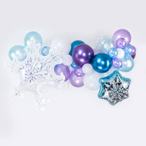 Balloons - Ice Princess Balloon Arch And Garland Kit (5, 10, 16 Foot)