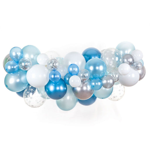 Balloons - Winter Onederland Balloon Arch And Garland Kit (5, 10, 16 Foot)