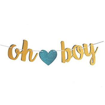 Banners - Oh Boy Baby Shower Banner