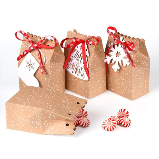 Favor Boxes - Christmas Gift Bags -  12ct