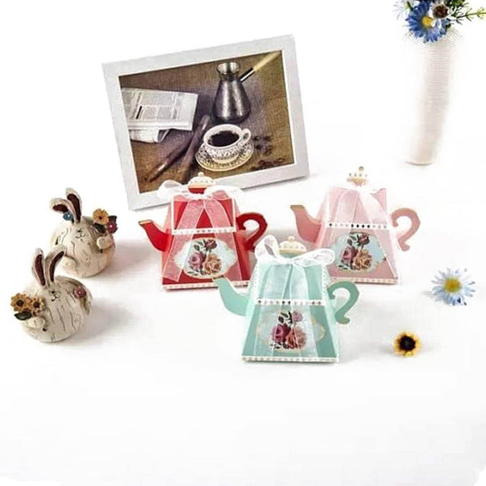 Favor Boxes - Teapot Favor Boxes 25ct