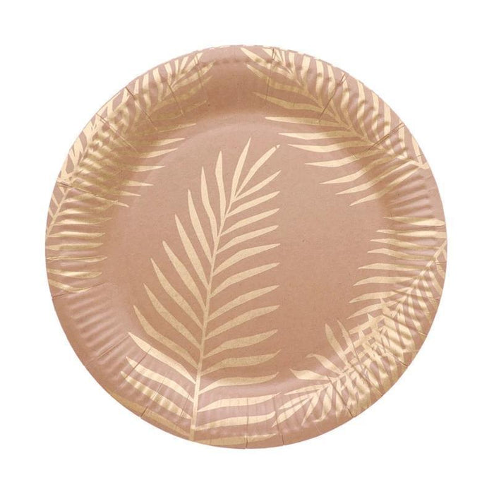 Gold Foil Tableware Set