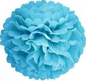 Hanging Decorations - 14-inch Paper Pom Poms