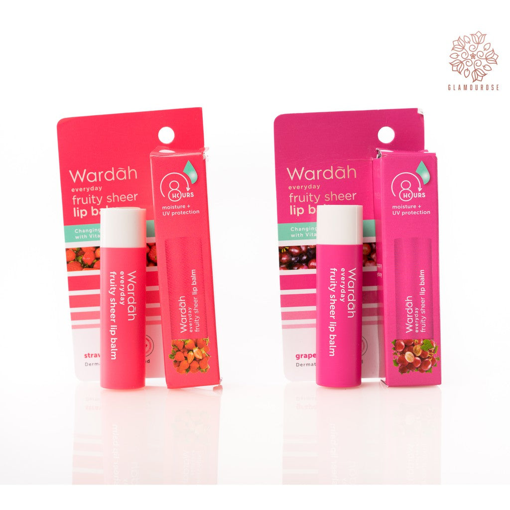 Everyday Fruity Sheer Lip Balm - Wardah