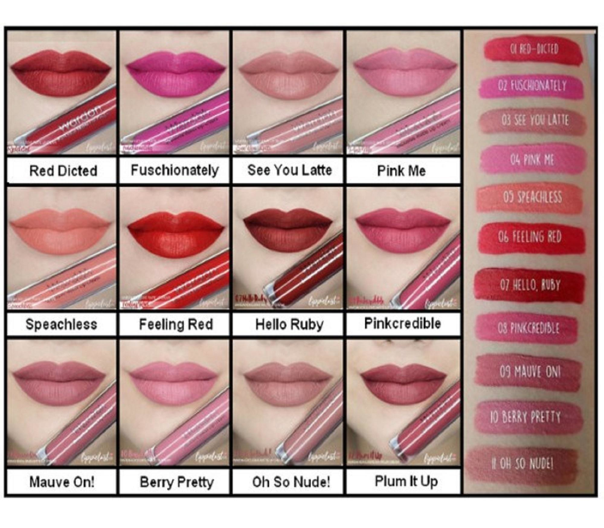 Exclusive LipCream - Wardah