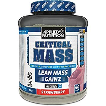 APPLIED NUTRITION Critical Mass 2.4kg - Supplement Dealz