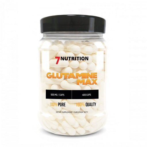 7 NUTRITION Glutamine Max 400 (1000mg) - Supplement Dealz
