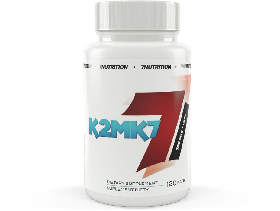 7 NUTRITION Vitamin K2 MK7 120 Tablets - Supplement Dealz