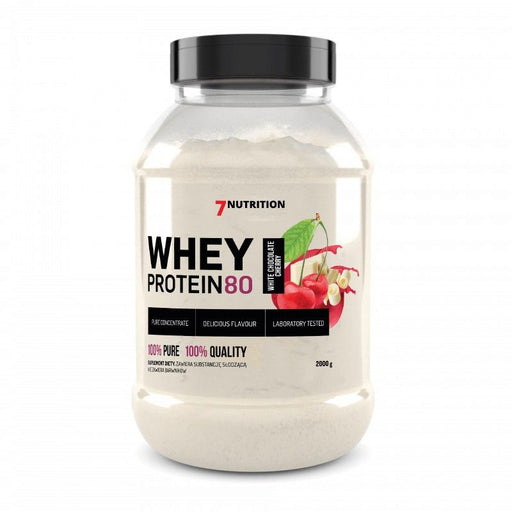 7 NUTRITION Whey Protein 80 (2Kg) - Supplement Dealz