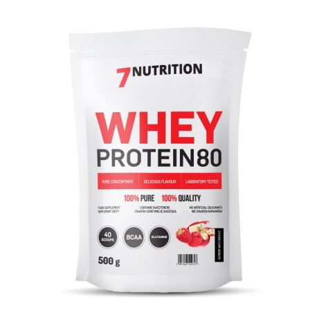 7 NUTRITION Whey Protein 80 (500g) Pouch - Supplement Dealz
