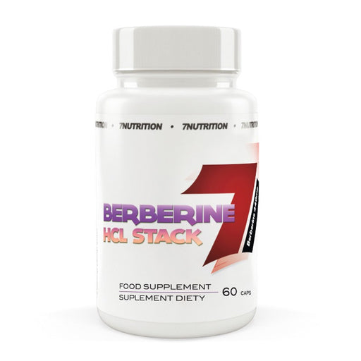7 Nutrition  Berberine HCL Stack  (60 Capsules)