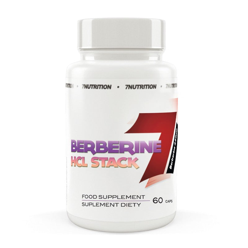 7 Nutrition  Berberine HCL Stack  (60 Capsules) - Supplement Dealz