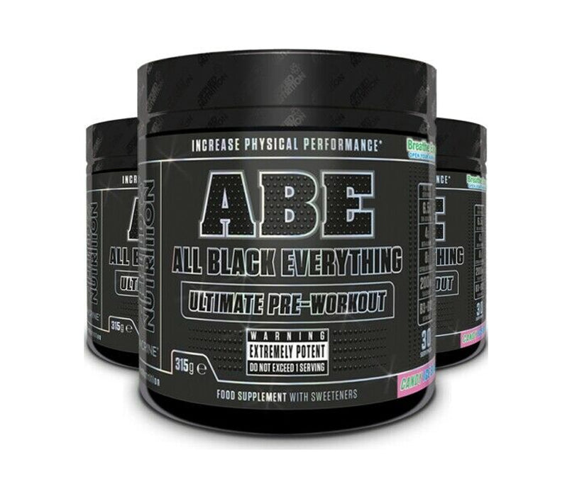 APPLIED NUTRITION All Black Everything (A.B.E.) Powder 315g - Supplement Dealz